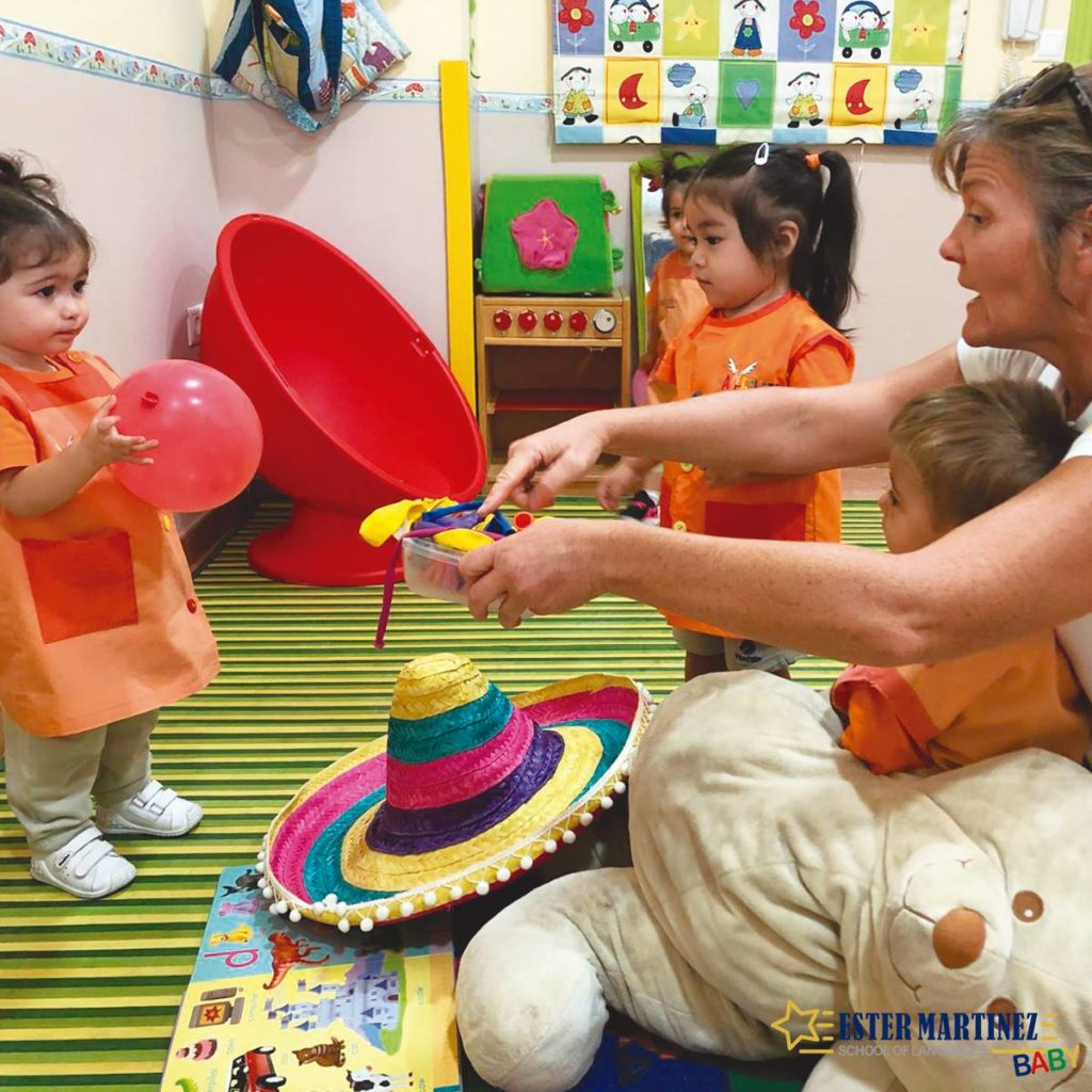 academia de inglés para niños de 2 años