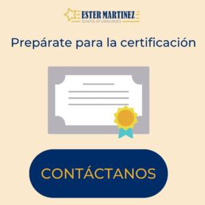 certificación de inglés