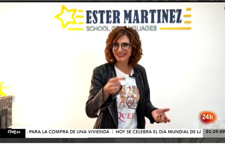Inglés Forever en Televisión Española