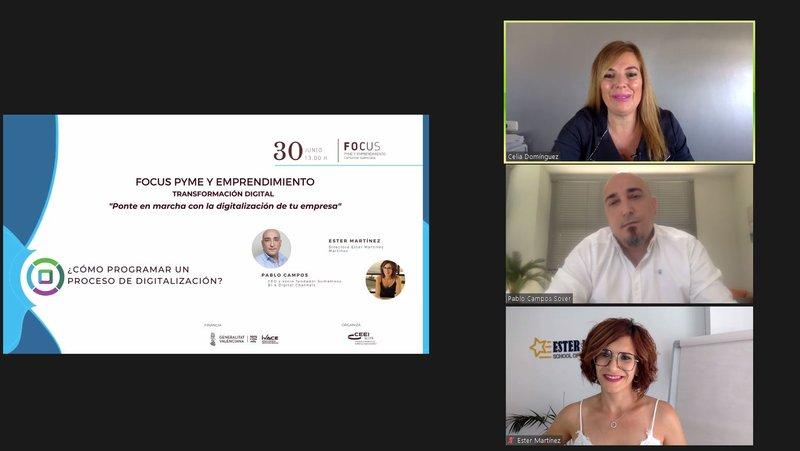 Transformación digital con Ester Martínez en Focus Pyme y emprendimiento
